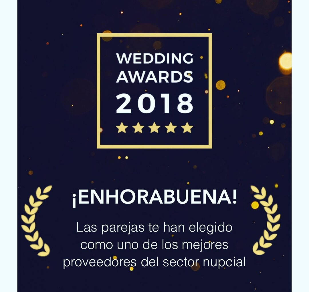 "GDBodas recibe el ""PREMIO WEDDING AWARDS 2018"" de bodas.net"