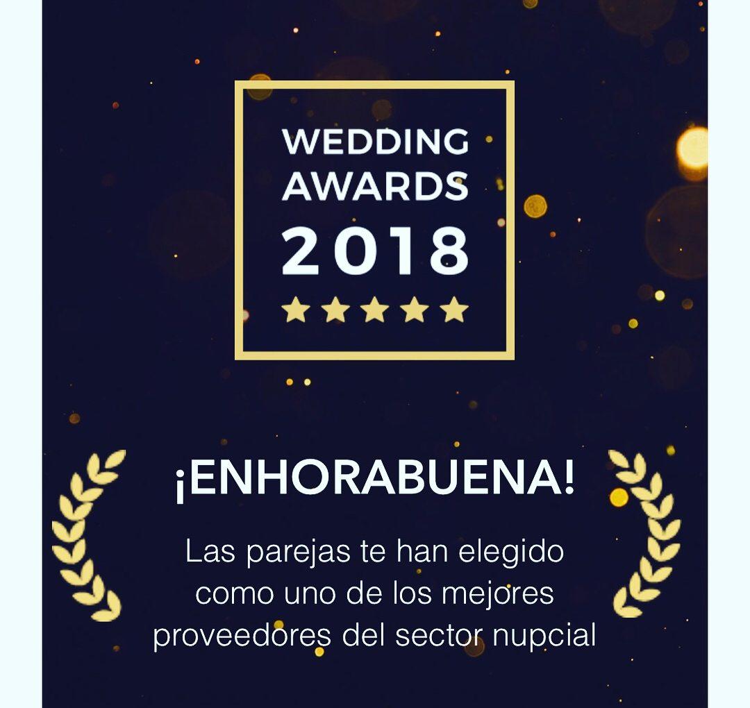 """GDBodas recibe el """"PREMIO WEDDING AWARDS 2018"""" de bodas.net"""